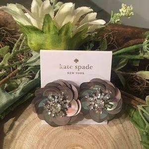 ♠️ Kate Spade ♠️ Snowy Nights Earrings NWT